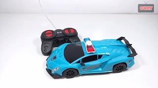 Xe cảnh sát điều khiển từ xa police car remote control toy for kids childrens đồ chơi trẻ em