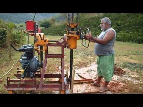 FURANDO POÇO COM ROTATIVA  MACH 920