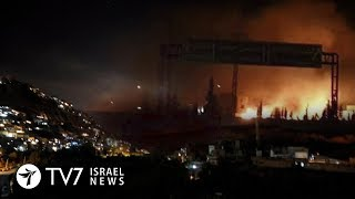 Israel destroys Iranian weapons cache in Syria airport - TV7 Israel News 14.01.19