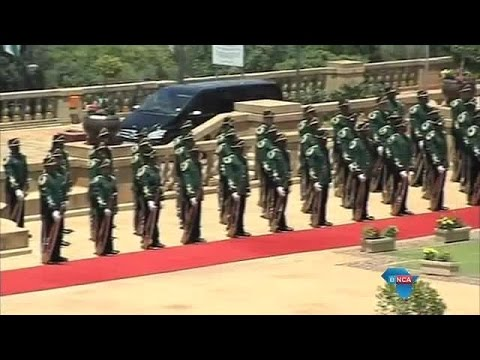 Red carpet rolled out for Presidents