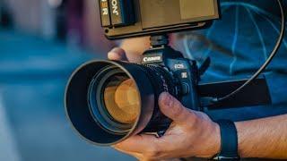 Canon EOS R + Atomos Ninja V = Baby Canon C200!