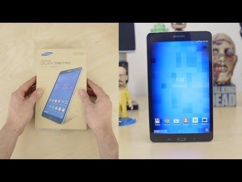 Samsung Galaxy Tab Pro 8.4 Unboxing & Demo