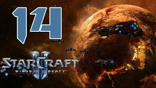 Прохождение StarCraft 2: Wings of Liberty #14 - Побег [Эксперт]