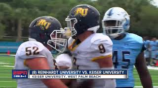 Keiser stuns No. 8 Reinhardt with late go-ahead touchdown