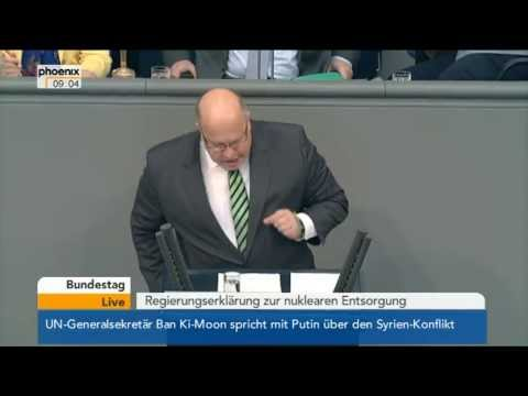 Regierungserklrung von Peter Altmaier zur nuklearen Entsorgung - VOR ORT vom 17.05.2013