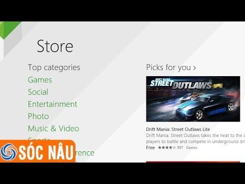 Hướng dẫn cài ứng dụng cho Win 8.1 miễn phí