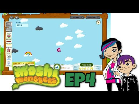Moshi Monsters Game Play with Auto EP4