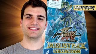 Best Yugioh 5Ds 2009 Duelist Pack Yusei Collection Tin Opening! ..Blue.. OH BABY!!