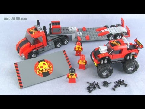 LEGO City Monster Truck Transporter 60027 set review!