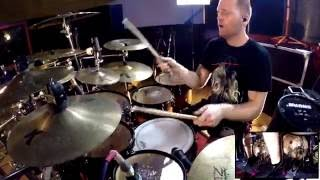 NE OBLIVISCARIS Dan Presland - Devour Me, Colossus (Drum playthrough)