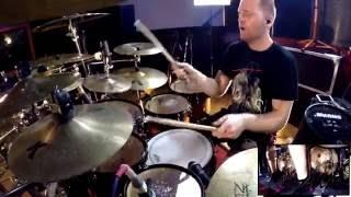 NE OBLIVISCARIS Dan Presland - Devour Me, Colossus (Drum playthrough)
