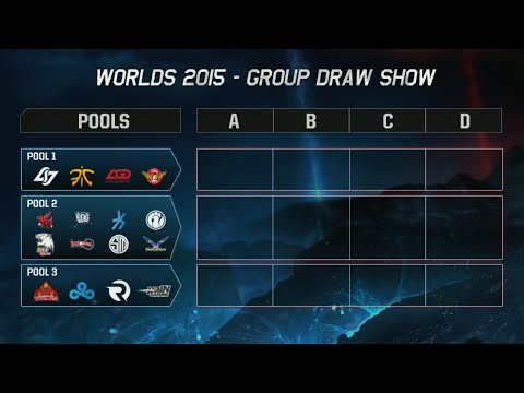2015 League of Legends Season 5 World Championship Group Draw! S5 LoL Worlds Groups Announced!
