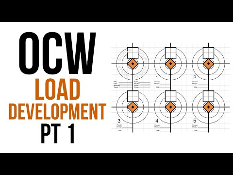 OCW Load Development Part 1 | Brief over view and how to use my spreadsheet