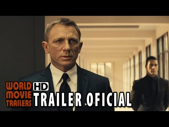 007 CONTRA SPECTRE Trailer Final Legendado (2015) - James Bond HD