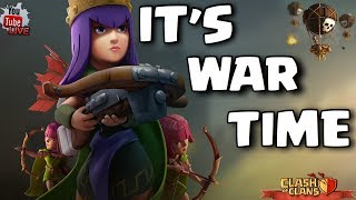 COC - WAR - ∆N∆RKHI∆ vs HIGHLY ACTIVE - BOA NOITE !! LIVE ON !! CLASH ON !!!