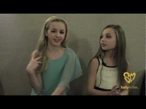 Chloe & Maddie of Dance Moms share their Favorite Things Exclusively with Sally Miller Fans