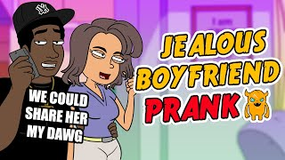 Angry Jealous Boyfriend Prank - Ownage Pranks
