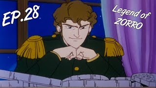 THE HAUNTED RUINS - The Legend of Zorro, ep. 28 - EN