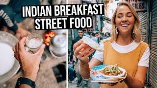 We Tried Indian Breakfast Street Food in Old Delhi
