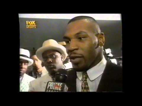 Mike Tyson vs Bruce Seldon Post Fight Image 1
