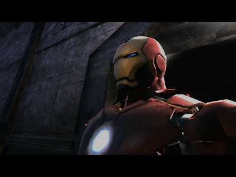 Iron Man 2 videogame teaser trailer