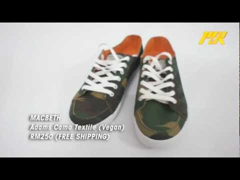 Review: Macbeth shoe – Adams Camo Textile (Vegan)