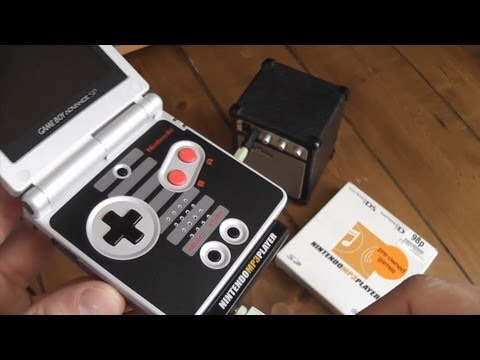 Nintendo MP3 Player - Mini Review - GBA/DS Lite Compatible Music Cartridge