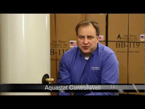 Boiler Buddy Buffer Tank: Aquastat Control Well