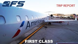 Building of a CRJ aircraft for Mesa Airlines