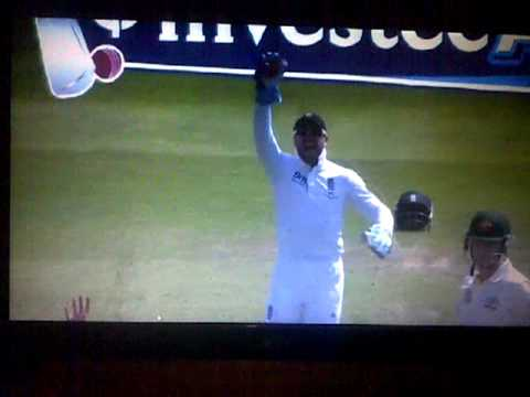 James Anderson Winning Wicket against Brad Haddin: Ashes 2013