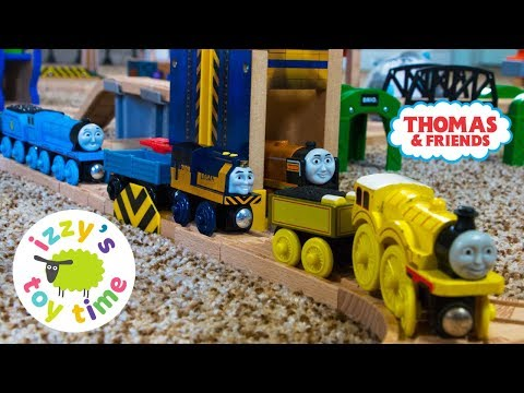 Thomas and Friends | LOGAN AND THE BLUE ENGINE! Fun Toy Trains for Kids | Thomas Train with Brio