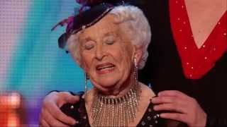 Britain's Got Talent S08E01 Paddy & Nico The Most Amazing 79 Year Old Salsa Dancer