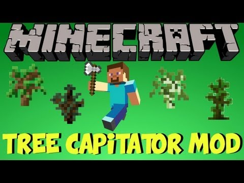 Como Instalar TreeCapitator Mod Minecraft 1.5.2 !! [TALAR/CORTAR ARBOLES A LA VELOCIDAD DE LA LUZ]