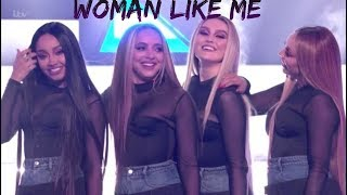 "LITTLE MIX PERFORMING ""WOMAN LIKE ME"" AT THE X FACTOR UK 2018"