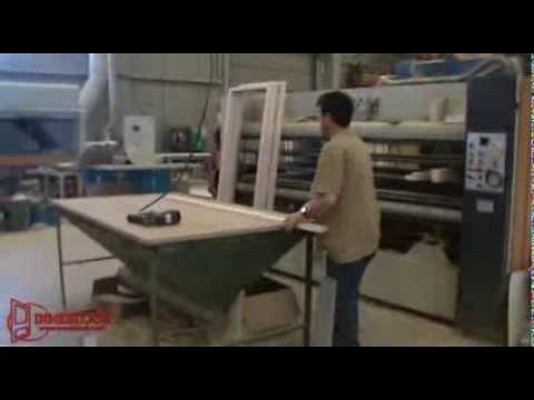 Proceso de fabricación de una puerta
