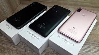 Redmi 6 pro vs Redmi Note 6 pro vs Redmi note 5 pro - Which Should You Buy ?