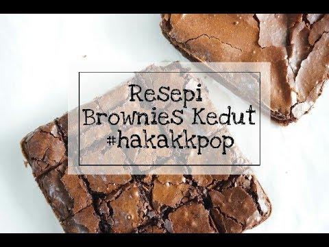 Resepi Brownies Kedut Simple Gerenti Jadi