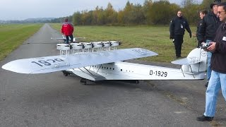 AMAZING RC AIRPLANE FLYING BOAT DORNIER DO X / Faszination Modellbau Friedrichshafen 2016