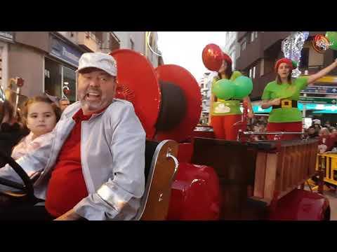 CABALGATA DE LOS REYES MAGOS EN TELDE. ENERO 2018.