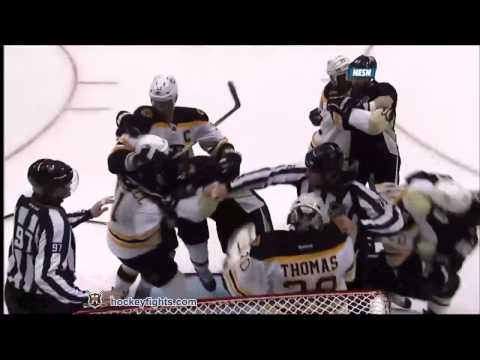 Top 10 NHL Fights 2011-2012