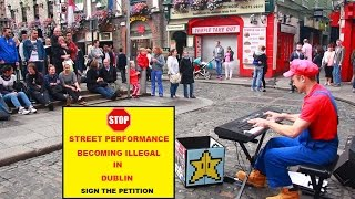 MARIO STOPPING STREET PERFORMANCE BECOMING ILLEGAL!