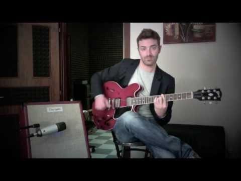 Giant Steps Jazz Chords - Dangelo Tube 20 Guitar Amp Demo - Roberto Cardinali