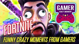 CRAZY MOMENTS PLAYING FORTNITE from  Famous Streamers  EP. 01
