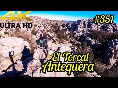 El Torcal de Antequera 4k ULTRA HD - Antequera Málaga Drone