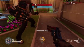 Playing some overwatch
