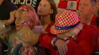 Heartbreak for England and joy for Croatia