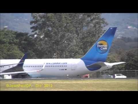 BOEING B767-330ER Cóndor - Thomas Cook (landing - parking - take off)