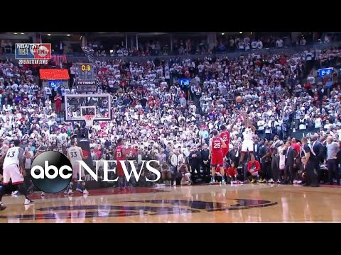 Toronto Raptors score buzzer-beater to win Game 7