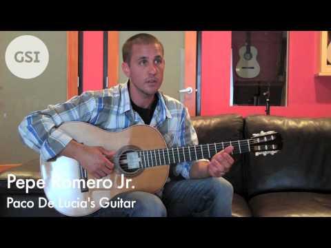 Pepe Romero Jr. - Paco de Lucia's New Guitar: Flamenco Guitar ar Guitar Salon International
