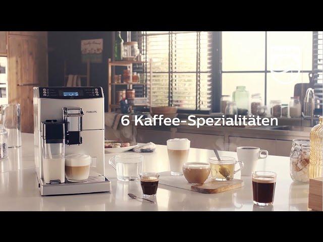 Philips 4000er Kaffeevollautomaten: Kaffee-Vielfalt leicht gemacht